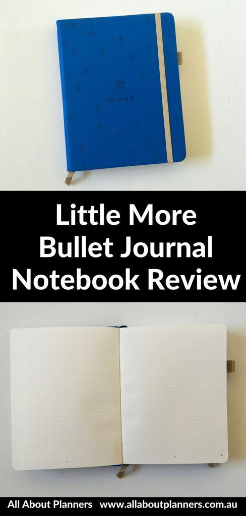 little more bullet journal notebook review pros and cons similar to scribbles that matter dot grid small mini page size bujo