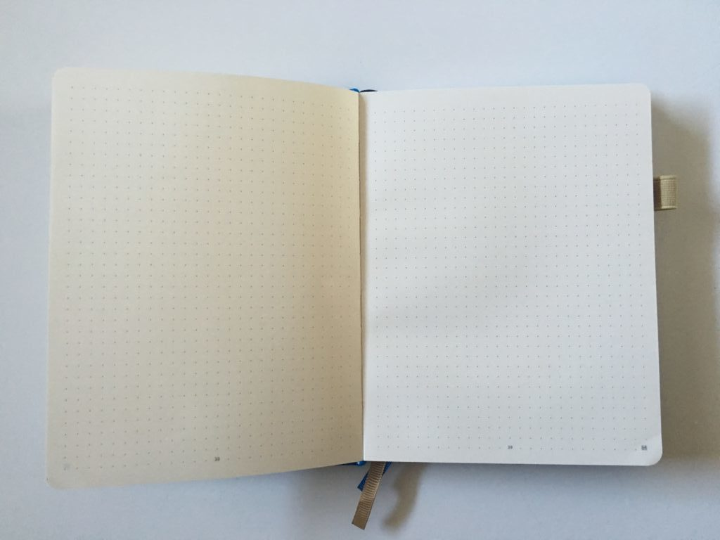little more notebook for bullet journaling review pros and cons dot grid numbered pages