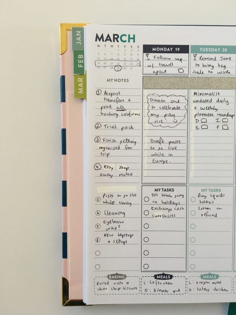 lorna leigh lane weekly planner monday start vertical hourly similar alternative to erin condren australia