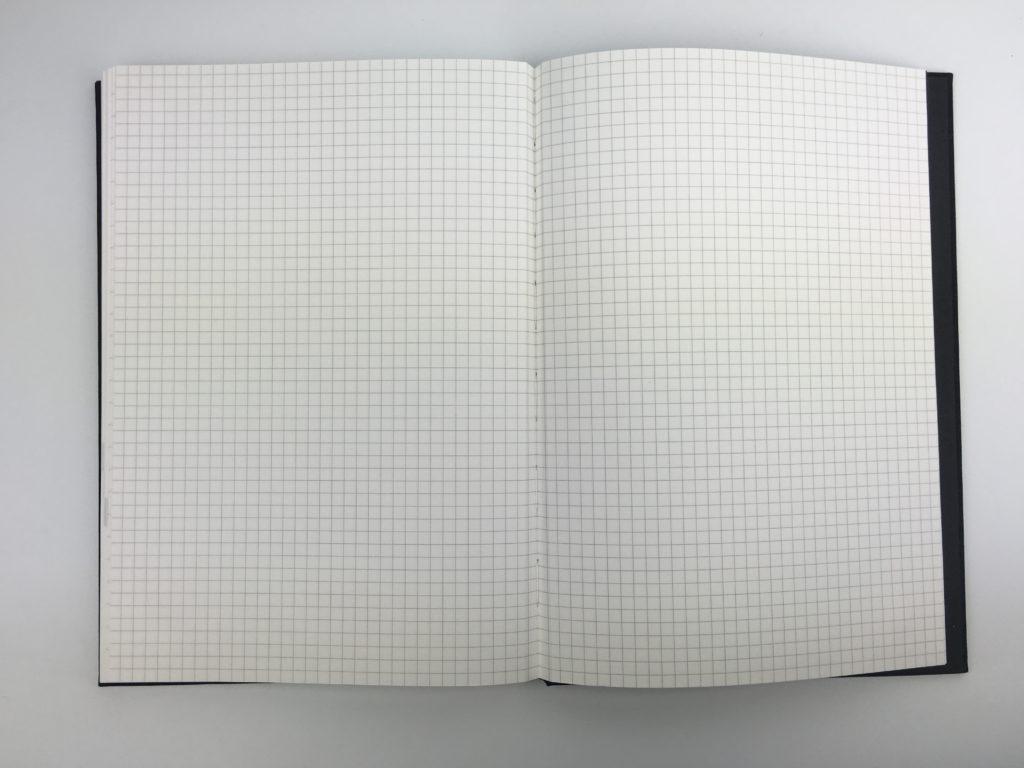milligram weekly planner hardbound grid bullet journal horizontal lined with notes gender neutral