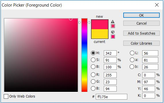 photoshop color picker tool how to color match change colors tips inspiration newbie beginner video