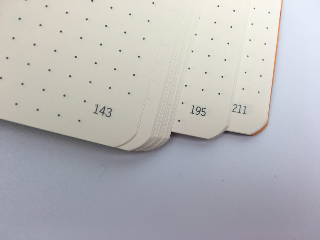 rhodia goal book numbered pages dot grid a5 size bullet journal bujo must have planner supplies