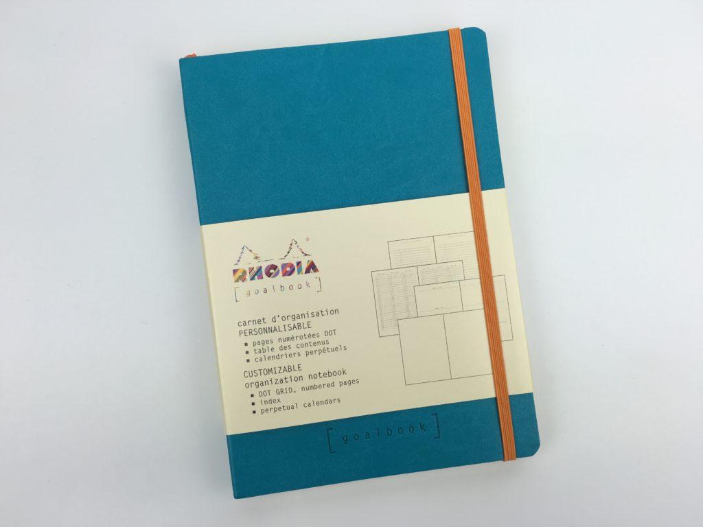 Rhodia Goalbook for Bullet Journaling Review (Pros, cons & video walkthrough)
