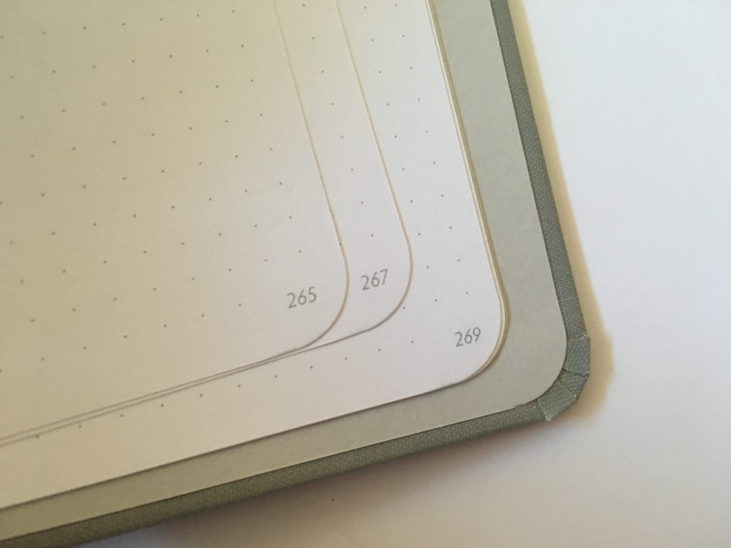 unbound weekly planner review pros and cons alternative to bullet journal notebook with numbered dot grid pages vertical monday start