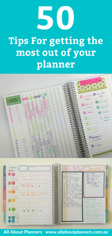 50 tips for getting the most out of your planner color coding key symbols newbie how to use your planner effectively