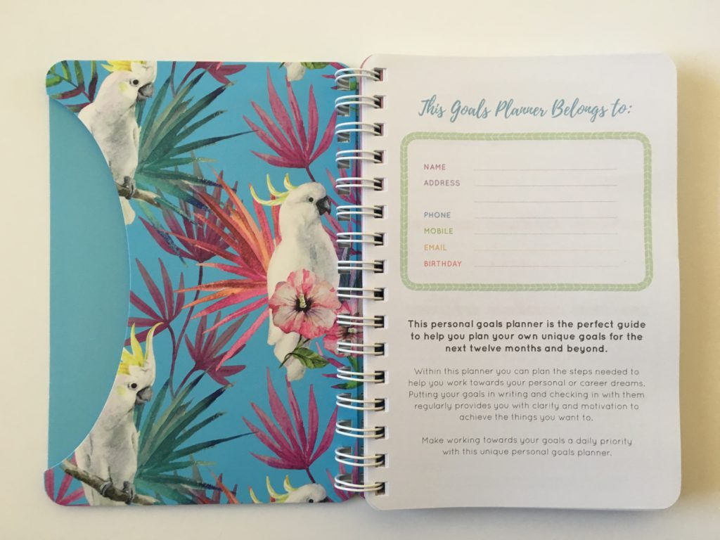 australian planner similar to erin condren otto my goals a5 size review horizontal monday start 2 page week