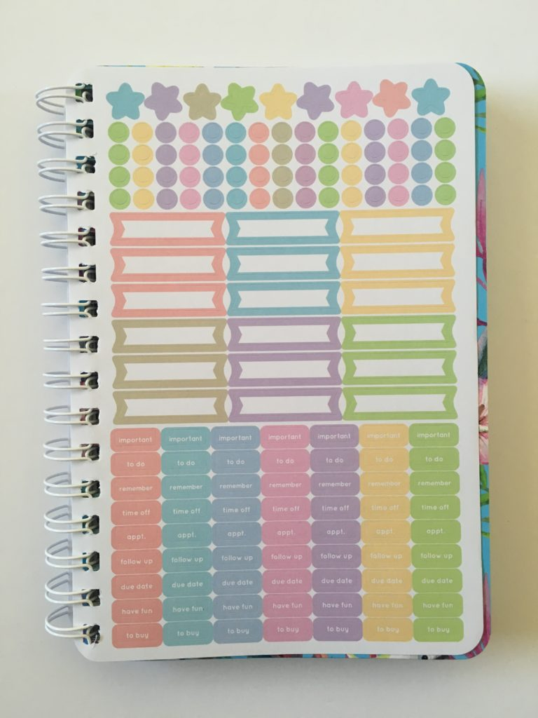 australian planner similar to erin condren otto my goals a5 size review horizontal monday start 2 page week lined notes appointments lists label