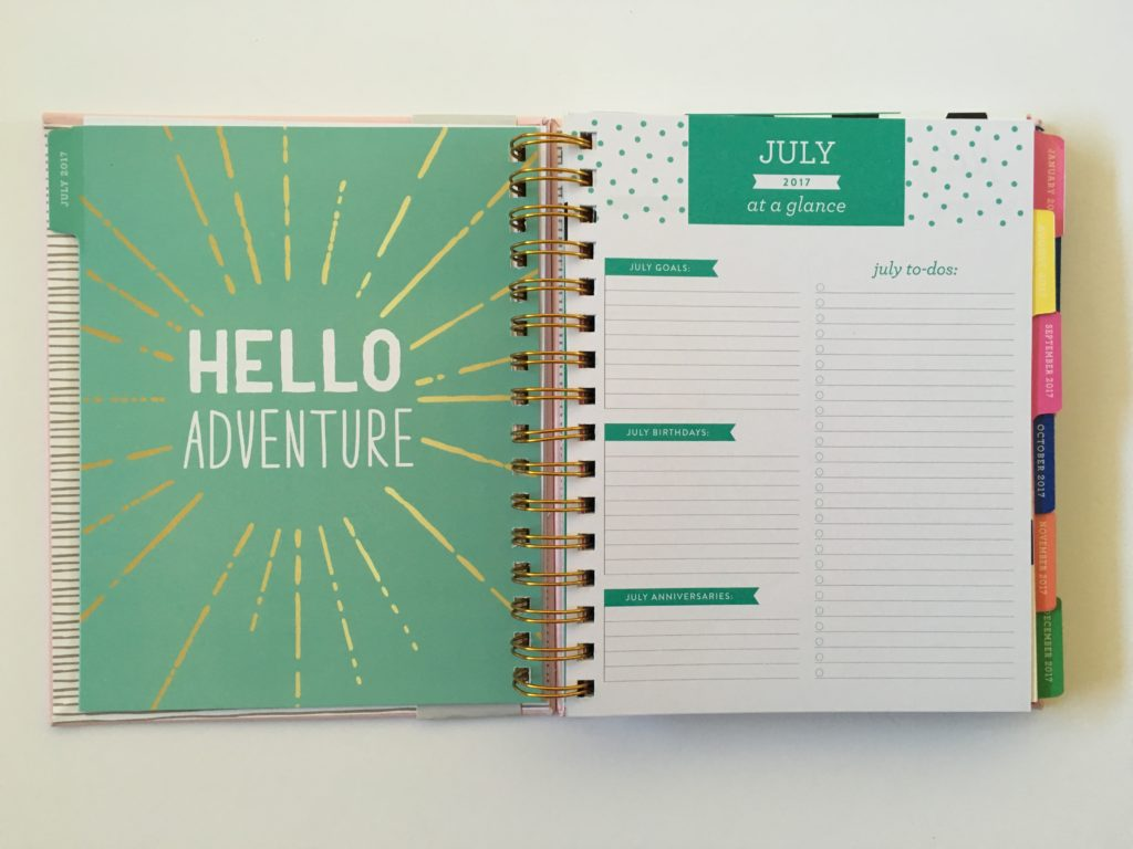 eccolo planner review horizontal monday start lined checklist cute colorful functional cheaper alternative to erin condren hardcover medium size video notes
