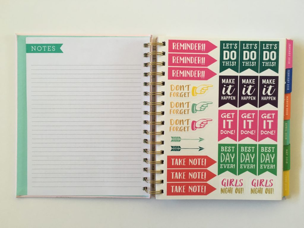 eccolo planner review video pros and cons similar cheaper alternative to erin condren plum paper planner stickers colorful