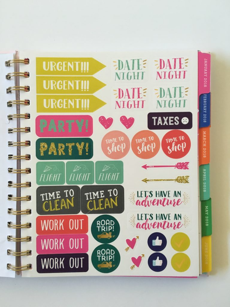eccolo planner review video pros and cons similar cheaper alternative to erin condren plum paper planner stickers colorful reminder