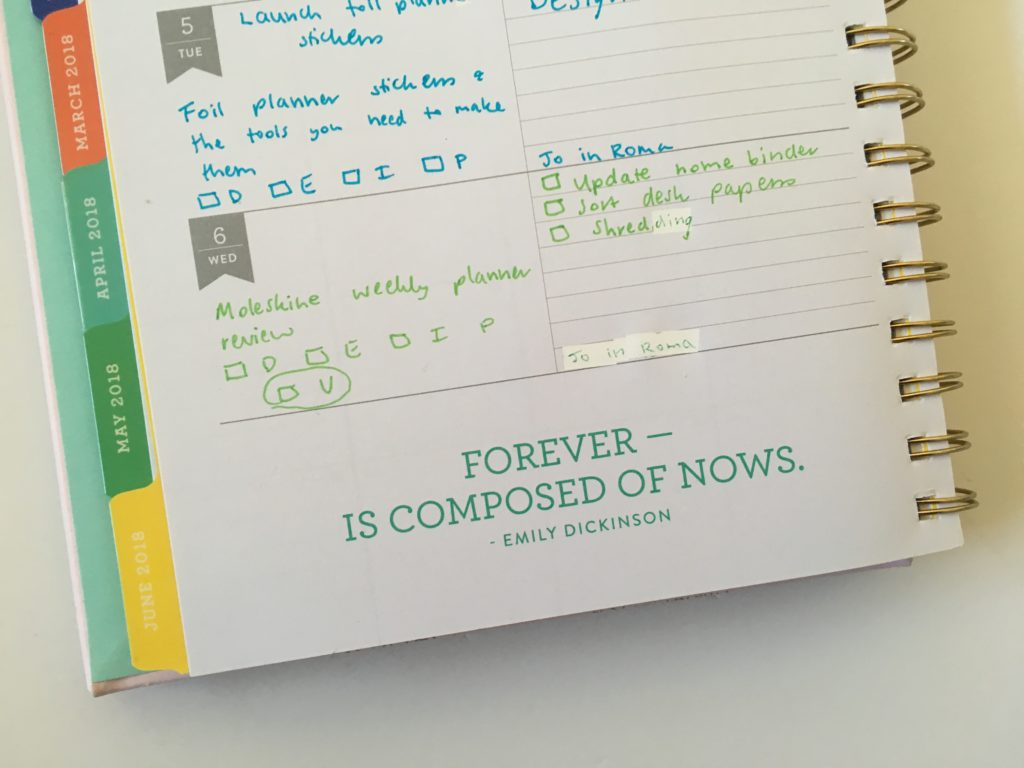 eccolo weekly planner review creative devotion pens horizontal lined functional cheaper alternative to erin condren