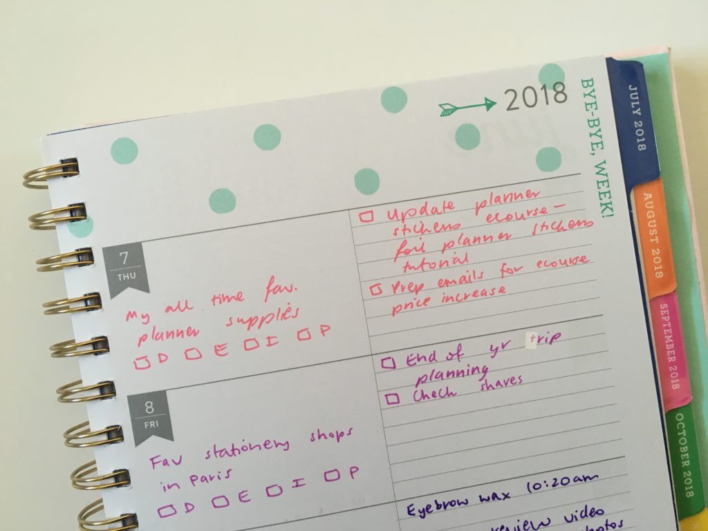 eccolo weekly planner review creative devotion pens horizontal lined functional cheaper alternative to erin condren recollections