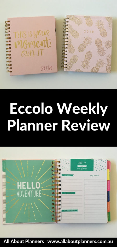 eccolo weekly planner review horizontal cheaper alternative to erin condren plum paper limelife pros and cons