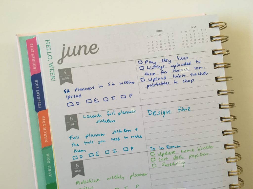 eccolo weekly planner review monday start blog planning pros and cons review cheaper than erin condren recollections unlined lined