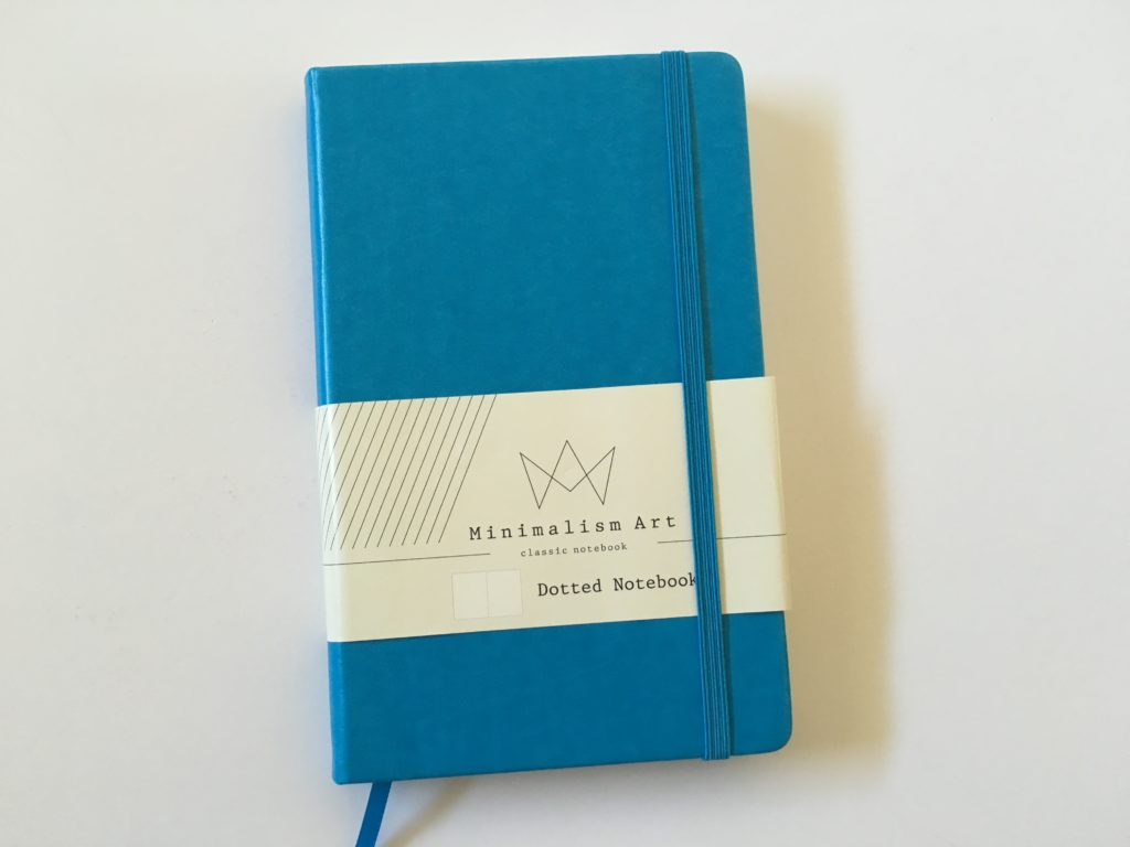 Review of the Minimalism Art Dot Grid Notebook for Bullet Journaling