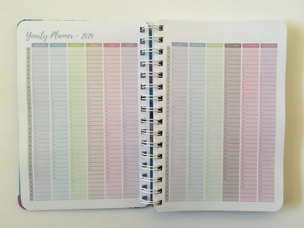 otto my goals weekly planner review a5 size horizontal colorful cheaper alternative to erin condren monthly calendar pros and cons monday start small dates at a glance