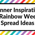 Planner Inspiration: 10 Rainbow Weekly Spread Ideas