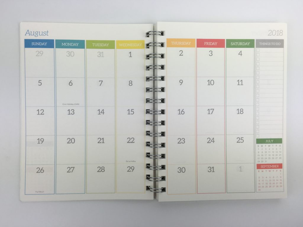 tf publishing moms manager review pros and cons video vertical family planner a5 size colorful compact 2 page calendar