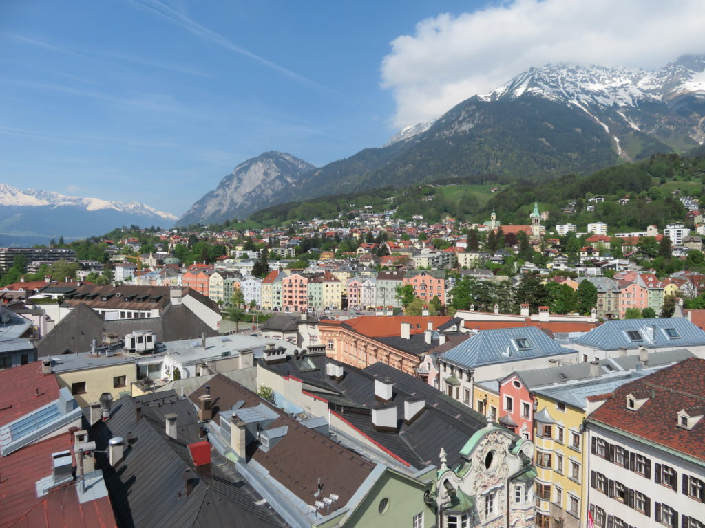 innsbruck austria viewpoint lookout must see and do itinerary