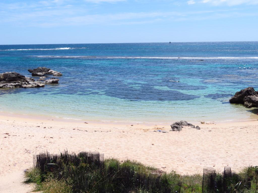 rottnest island beaches pristine white sand clear blue water australia