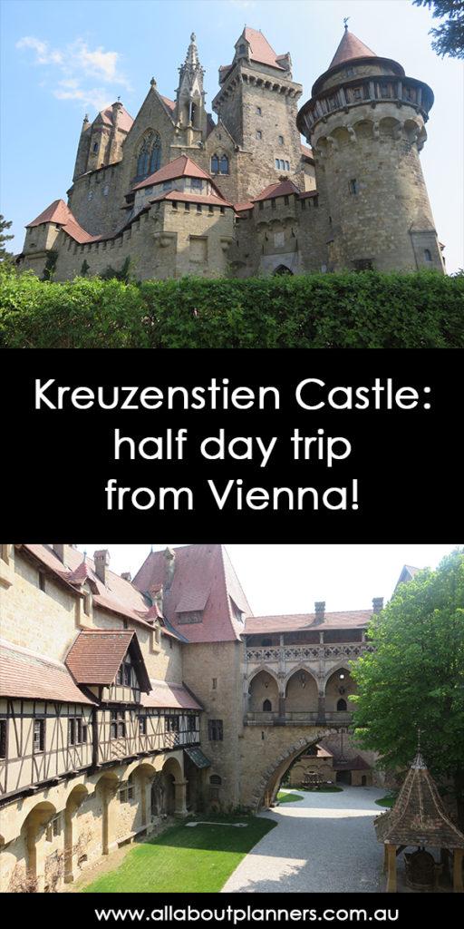 Kreuzenstien Castle half day trip from vienna fairytale european castle photo tips guide drawbridge moat