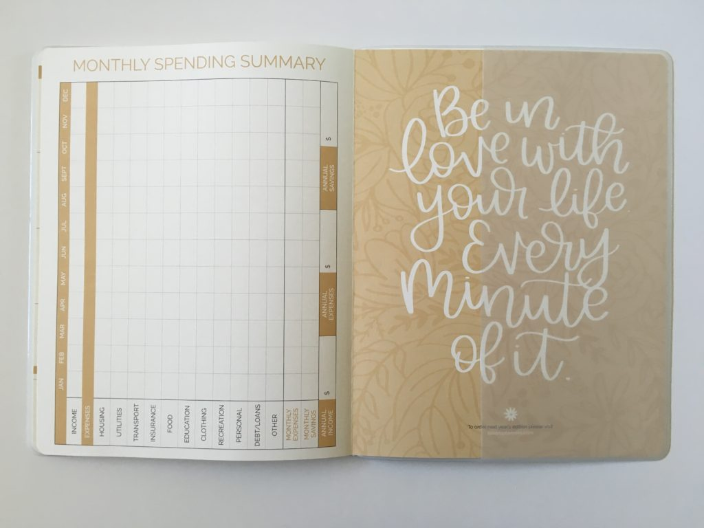 bloom monthly calendar 2019 review pros and cons spending bills meal planning letter size 2nd planner