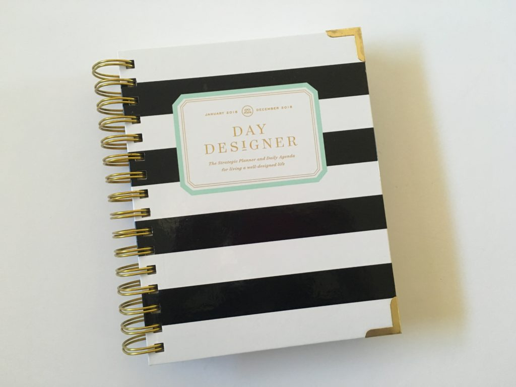 day designer mini planner review pros and cons video review day to a page minimalist a5 page size usa