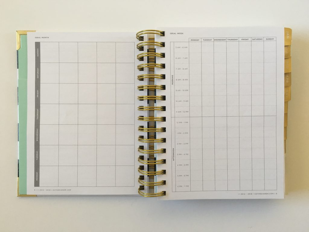 day designer planner review mini pros and cons video day to a page schedule checklist minimalist goal setting weekly checklist
