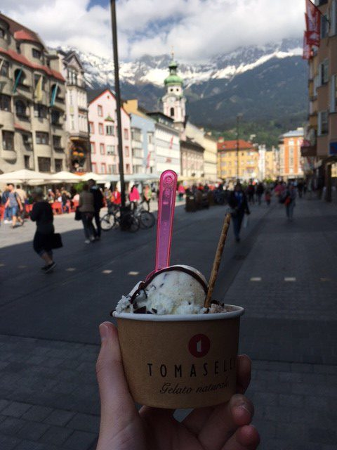 innsbruck gelato things to see and do austrian alps