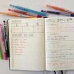 Bullet journaling in the Leuchtturm dot grid notebook