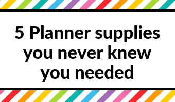planner supplies you never knew you needed addict tips inspiration ideas shopping list