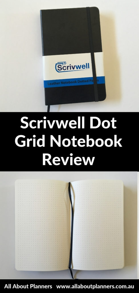 scrivwell bullet journal notebook review pros and cons