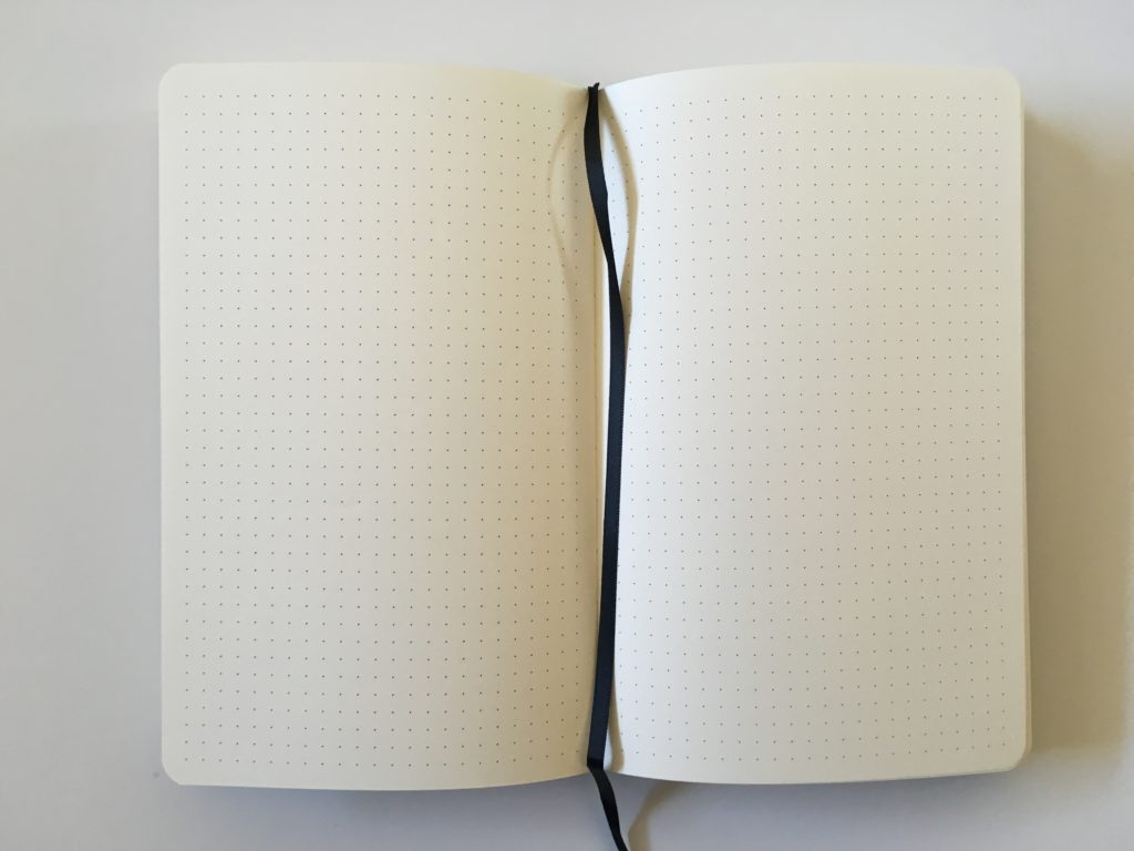 scrivwell dot grid notebook for bullet journaling review pros and cons