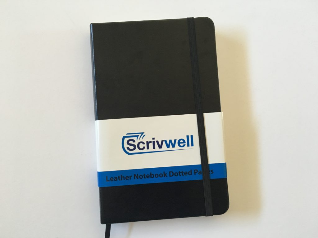 scrivwell notebook for bullet journaling review dot grid pros and cons paper quality cheap amazon