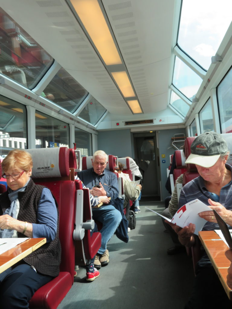 glacier express review switzerland first glass train journey swiss alps zermatt