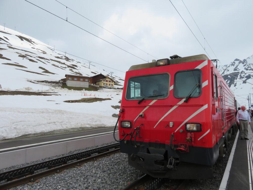 Riding first class on Switzerland's Glacier Express train to Zermatt!