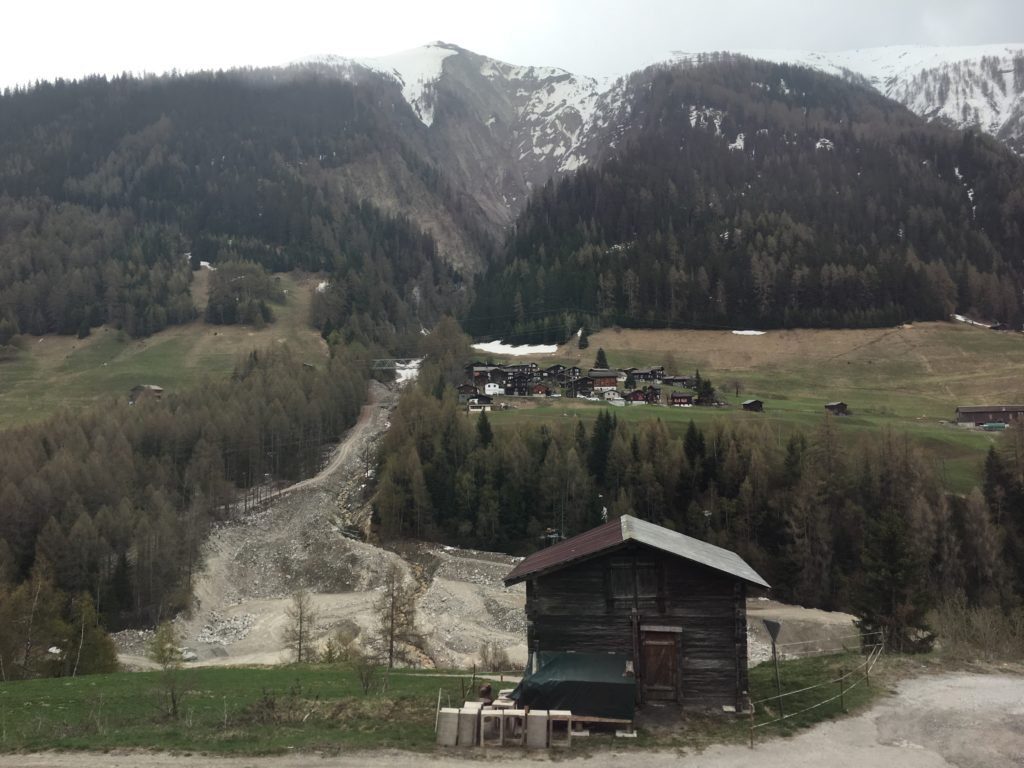 switzerland glacier express train review from chur to zermatt swiss villages april may spring weather