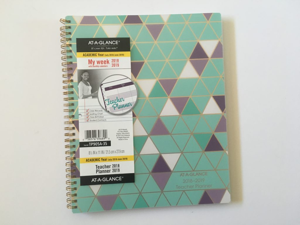 at a glance teacher planner mead review pros and cons colorful