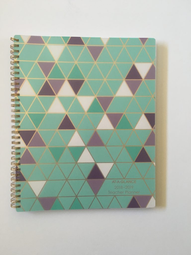 at a glance teacher planner review pros and cons honest lined cheaper alternative to erin condren similar to bluesky