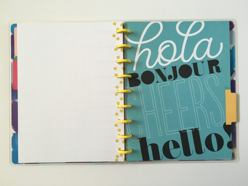 cute notebook for bullet journaling happy notes review pros and cons video dot grid paper