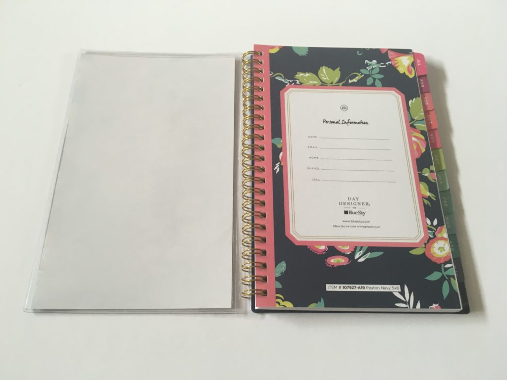 day designer blue sky weekly planner review pros and cons cheap affordable functional target alternative