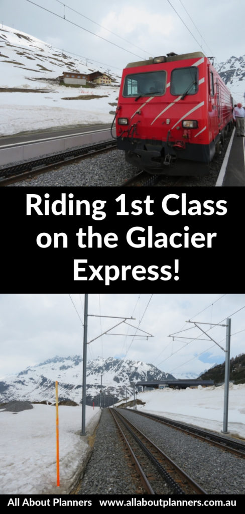 glacier express train switzerland review 1st class snow worth the money scenery
