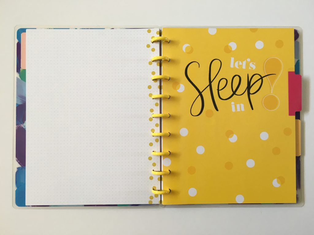 happy notes review pros and cons cute functional affordable dot grid divider school diary agenda daily organization