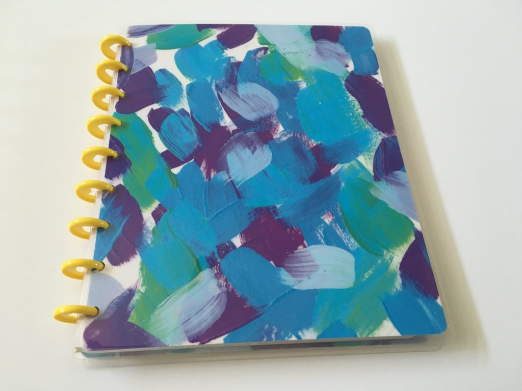 happy planner happy notes dot grid journal notebook review pros and cons cute colorful discbound removable pages no sewn binding watercolor