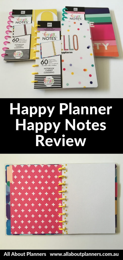 happy planner happy notes review pros and cons classic size bullet journal notebook cute