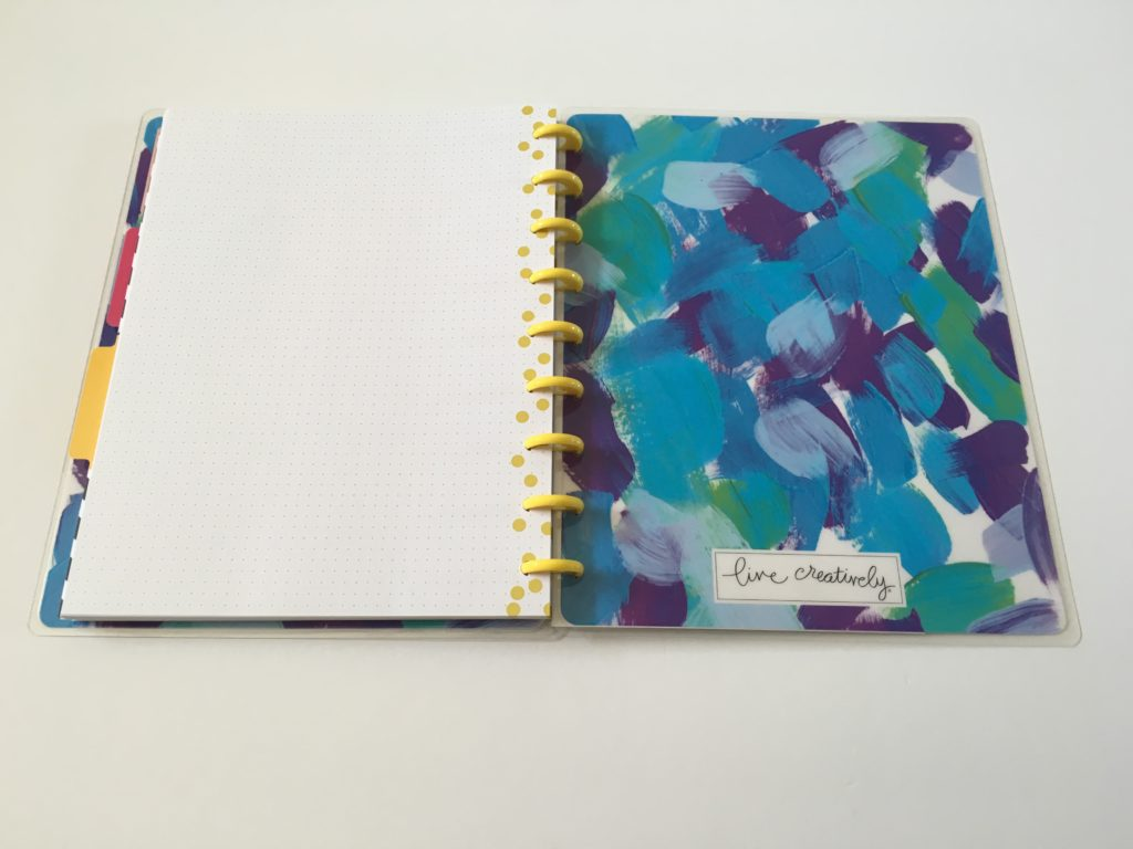 happy planner happy notes review pros and cons dot grid colorful cheap affordable best notebooks