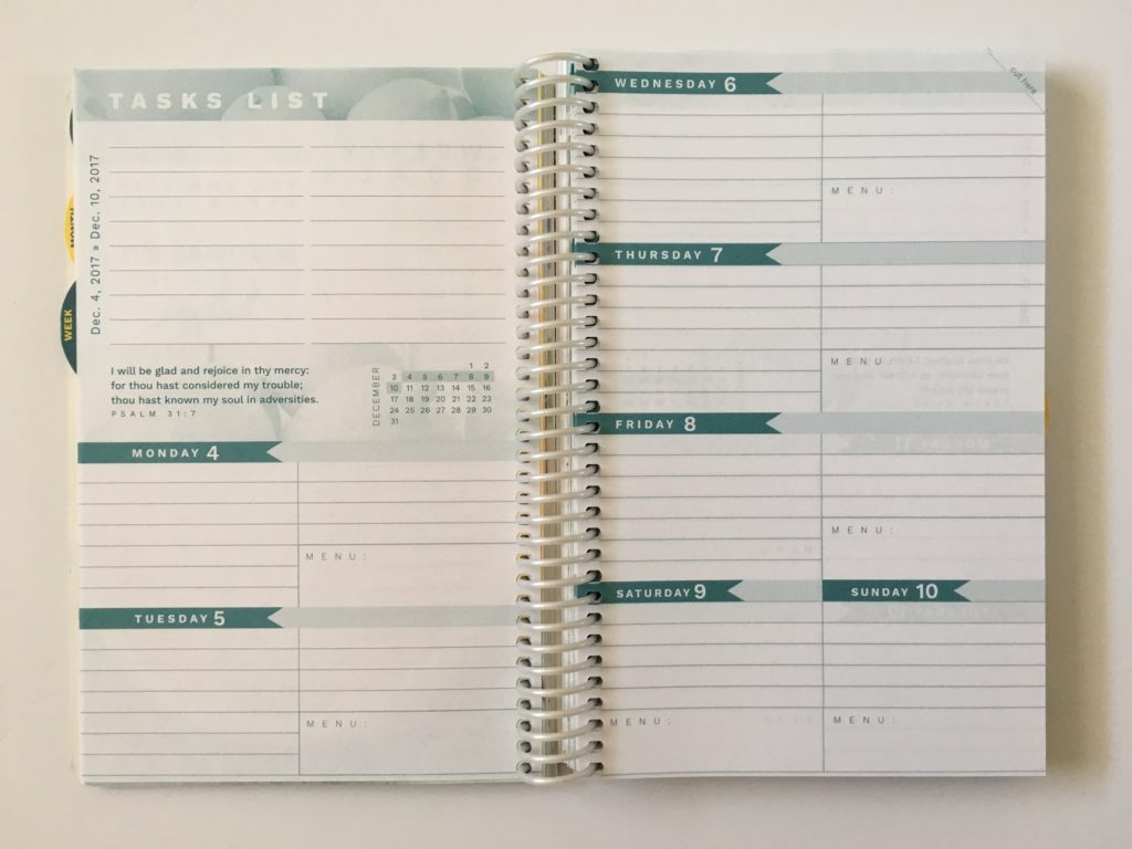 homemakers friend sue hooley weekly planner review pros and cons video walkthrough tabs agenda organizer horizontal monday start meal planning simple