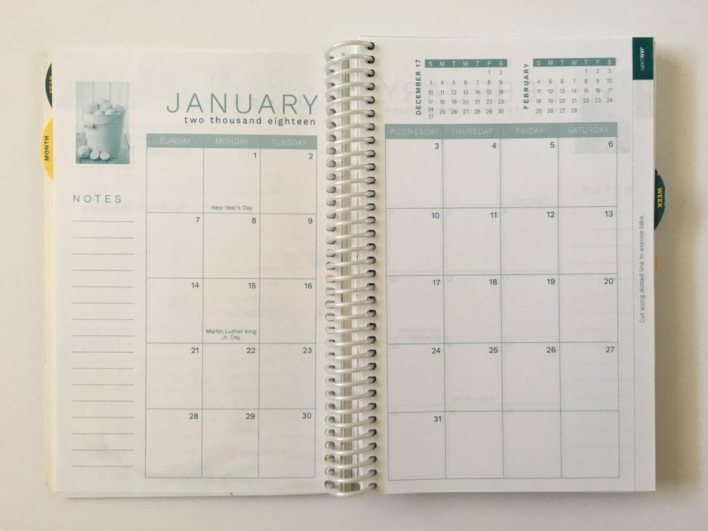 homemakers friend sue hooley weekly planner review pros and cons video walkthrough tabs agenda organizer monthly calendar 2 page sunday usa national holidays notes