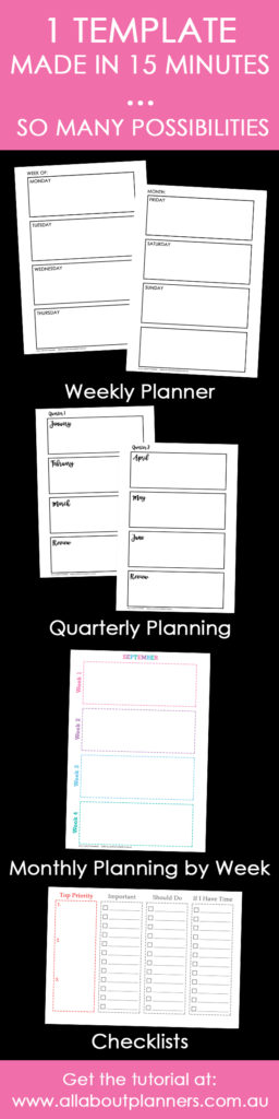 how to make a5 size printables tutorial tips weekly daily planning insert diy insert tips inspiration ideas bullet journal refills