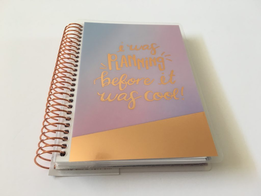 recollections mini planner review pros and cons video flipthrough tiny alternative to happy planner usa company